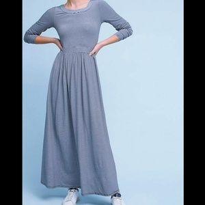 Anthropologie Floor Length Dress Size XS